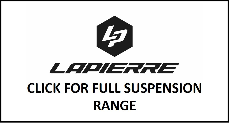 Northern Ride Lapierre Full Suspension Mountain Bikes